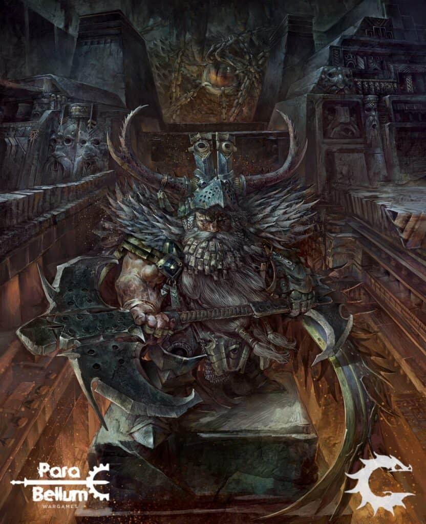 Raegh Theurodhin of Ghleulgas from Para Bellum Wargames